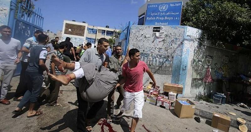انتشال (8) شهداء جراء القصف المدفعي الهمجي الذي استهدف شمال القطاع