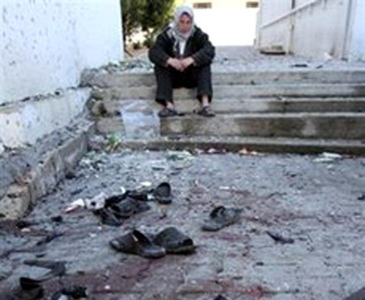 صورة من الارشيف للمجزرة