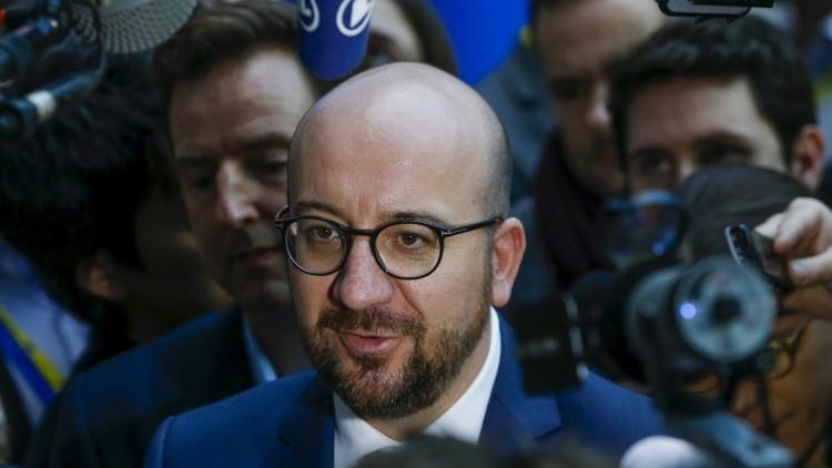 رئيس وزراء بلجيكا شارل ميشيل