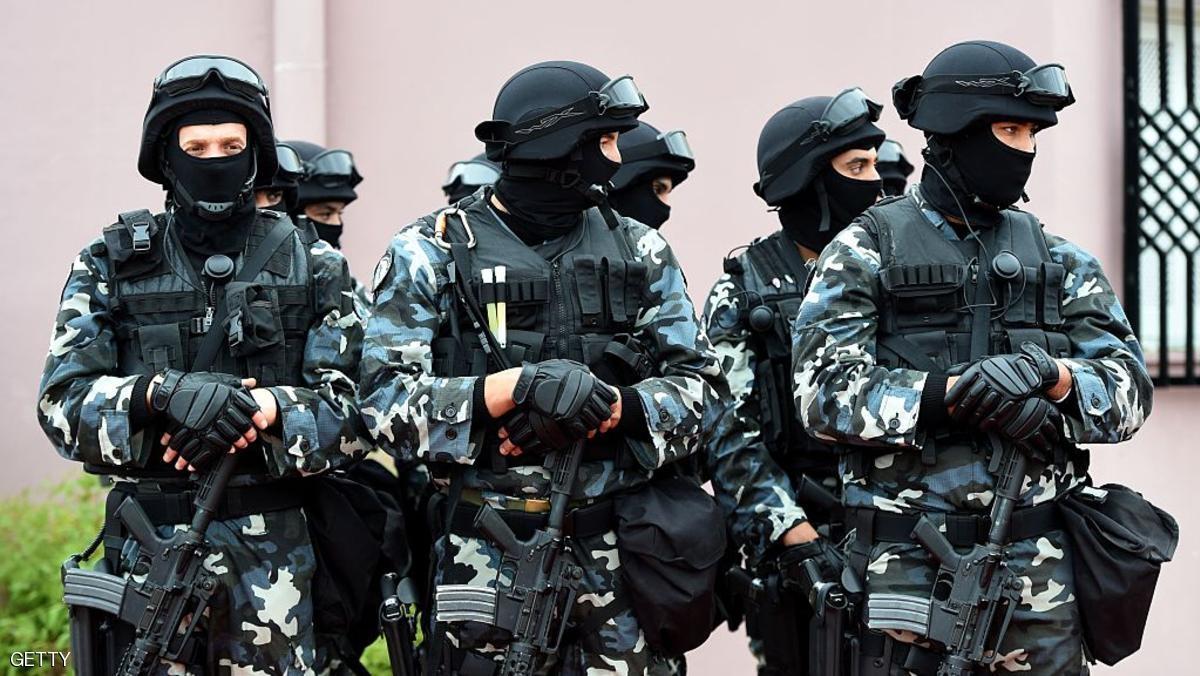 عناصر من القوات الخاصة التونسية