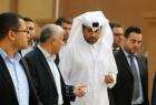 نائب السفير القطري خالد الحردان يصل غزة برفقة وفد طبي