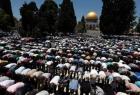 """20 ألف مصل يؤدون """"الجمعة"""" في المسجد الأقصى"""
