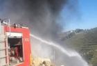 وفاة سيدة وأطفالها بحريق اندلع بمنزلهم في نابلس