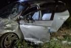 إصابات بإنقلاب سيارة في نابلس