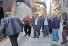 سوريا: السفير عبد الهادي يتفقد مخيم اليرموك