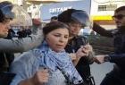 القدس: اعتقال رئيسة المركز النسوي جهاد أبو زنيد مخيم شعفاط