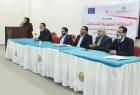 الضمير تنظم نموذج المحاكاة الصورية الثانية للانتخابات الرئاسية في جامعة الإسراء بغزة