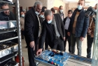 اقتصاد حماس وديوان المظالم يتفقدان مصنع بلبل ويستمعون للعقبات