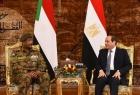 """""""السيسي والبرهان"""" يؤكدان على تعزيز الجهود الثنائية والدولية للتوصل لاتفاق بشأن تعبئة """"سد النهضة"""""""