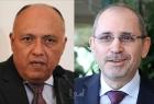 وزير الخارجية الأردني ينقل رسالة من الملك عبدالله الثاني إلى السيسي