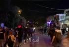 قوات الاحتلال تقمع المتظاهرين داخل حي الشيخ جراح - فيديو