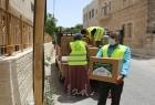 تنمية بيت لحم  وإغاثة 48 يوزعان طرودًا ووجبات غذائية للمؤسسات الإيوائية