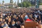 تشييع جثمان الشهيد موسى حسونة في مدينة اللد وسط مسيرة حاشدة - صورة وفيديو