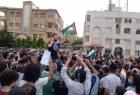 الأردنيون يواصلون تضامنهم مع فلسطين واعتصامهم قرب السفارة الإسرائيلية في عمان - فيديو