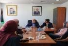 تنمية أريحا تبحث مع المحافظ أبو العسل التعاون المشترك بالبرامج وللأسر المهمشة