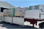قافلة مساعدات كويتية في طريقها إلى قطاع غزة - صور