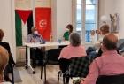 الشعبية تعقد لقاءات سياسية وإعلامية مكثفة في الأراضي الجاليقية