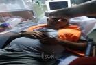 إصابة الصحفي ناصر اشتية في مواجهات مع قوات الاحتلال بدير الحطب