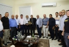 قلقيلية: المحافظ  يلتقي رئيس نادي الأسير ورئيس المكتبة الوطنية