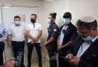 """مواجهة بين الإرهابي بن غفير وأيمن عودة خلال محاولة استفزازية لزيارة الأسير """"مقداد القواسمي"""" - فيديو"""