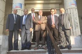 اللجنة القانونية لمسيرات العودة ونقابة المحامين المصريين يتفقان على العمل على متابعة جرائم الاحتلال الاسرائيلي