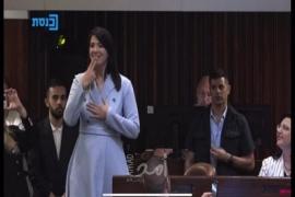 عضو كنيست صماء ترفع دعوة قضائية ضد صحفي إسرائيلي سخر منها