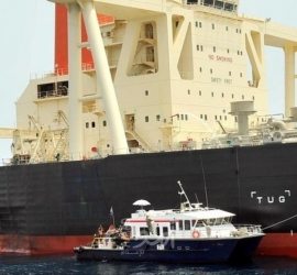 هيئة بريطانية مختصة في النقل البحري: حادث غير مرتبط بالقرصنة قبالة مياه الفجيرة