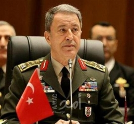 """خلوصي أكار،: منظومة """"إس-400"""" لن تؤذي أحدا إذا لم تكن هناك نوايا للهجوم على تركيا"""
