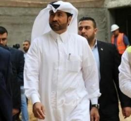 محدث: وصول السفير القطري ونائبه إلى قطاع غزة