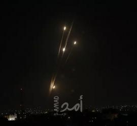 رشقة صاروخية تستهدف هرتسيليا رعنانا كفار شمارياهو السفيون - فيديو