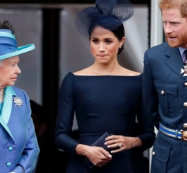 ميجان ميركل تهاجم القصر الملكي من جديد