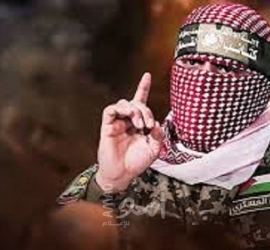 أبو عبيدة: يا أهل الضفة والداخل سنكون لكم سيفاً ودرعاً وما النصر إلا صبر ساعة