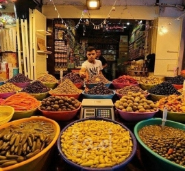 أسعار الخضار والدجاج واللحوم في أسواق غزة