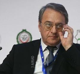 الرئيس عباس يهاتف بوغدانوف للاطمئنان على صحته