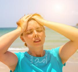 الفرق بين التشنجات الحرارية وضربة الشمس؟