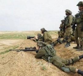 جيش الاحتلال يُطلق النار تجاه الأراضي الزراعية وسط قطاع غزة