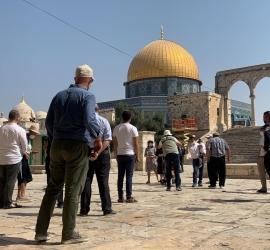 سلهب: منع الأذان في الأقصى انتهاك لحرمة المسجد