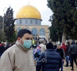 """القدس: 5 وفيات و261 إصابة جديدة بـ""""كورونا"""" خلال يومين"""