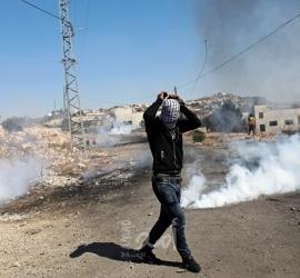 قلقيلية: إصابات بالاختناق خلال اعتداء قوات الاحتلال على مسيرة كفر قدوم الأسبوعية