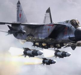 مقاتلة روسية تعترض طائرة  أمريكية فوق المحيط الهادئ