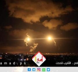 قصف إسرائيلي ضد مناطق عدة في قطاع غزة