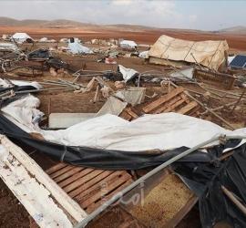 """خبراء الأمم المتحدة يدينون تدمير إسرائيل """"بلدة حمصة"""" الفلسطينية"""