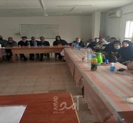 طولكرم: النضال الشعبي تعقد اجتماعاً موسعاً لكوادرها تحضيراً للانتخابات