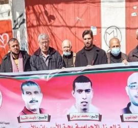 الشعبية في خان يونس تساند القائدين وائل الجاغوب ومحمد أبوغالي وكافة الأسرى المعزولين