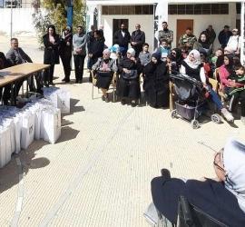 احتفال في مخيم اليرموك بمناسبة يوم المرآة العالمي