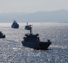 اصطدام سفينتين روسية وتركية في مضيق البوسفور