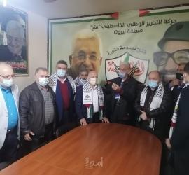 عبد القادر عبد الله وقيادة اتحاد العمال يستقبلون وفدا من الاتحاد العمالي العام في لبنان