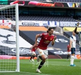 شاهد .. مانشستر يونايتد يقلب تأخره إلى فوز مثير على توتنهام