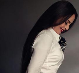 شريهان تكشف عن سرّ كثافة وجمال شعرها رغم تقدمها بالعٌمر - شاهد