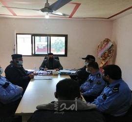 غزة: نيابة  حماس تعقد دورة عن مهارات وفنون التحقيق الجنائي لمركز شرطة بيت حانون